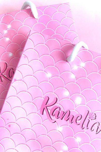 Mermail Pink Paper Bag 🛍